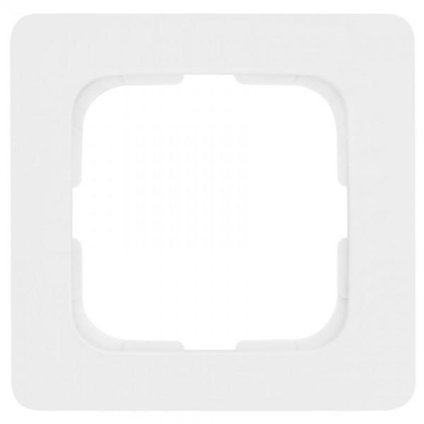 KLEIN®-SI - Rahmen 1-fach linear reinweiß