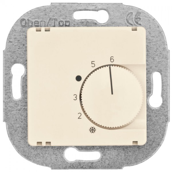 KLEIN® - Raumthermostat UP, cremeweiß