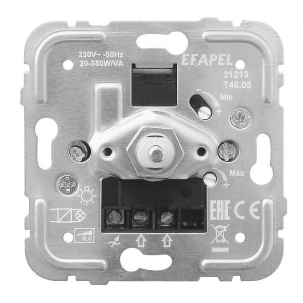 EFAPEL® - Druck-/Wechsel- Dimmereinsatz, 20-550W/VA