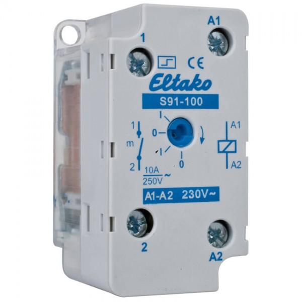 Eltako mechanischer Unterputz Stromstoßschalter 230V