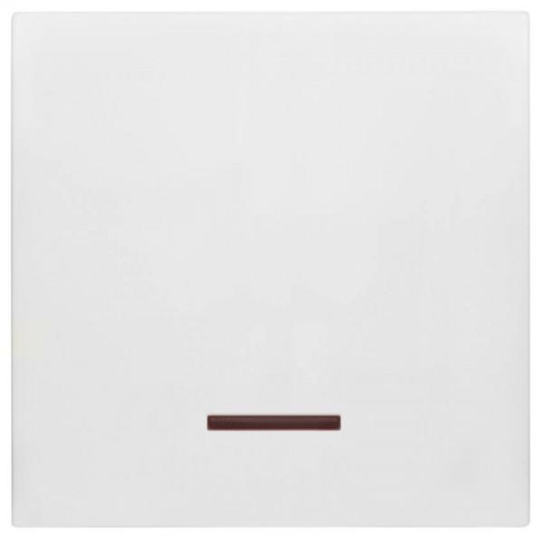 Panasonic® - Wippe, für Kontroll-Schalter, mit roter Kalotte, MERIDIAN, reinweiß