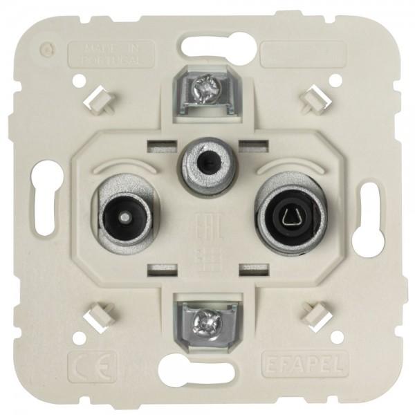 EFAPEL® - SAT-Antennensteckdose, mit Steckanschluss