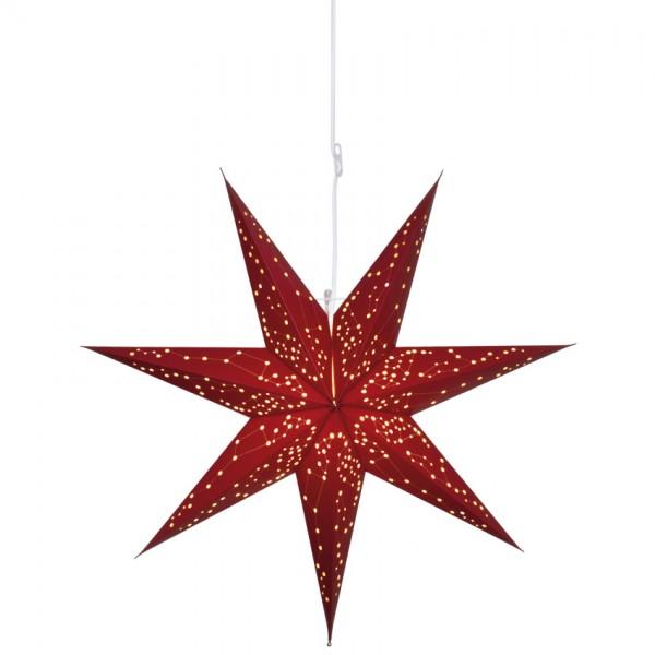Weihnachtsstern, GALAXY, rot, Ø 60cm, 1 x E14/25W