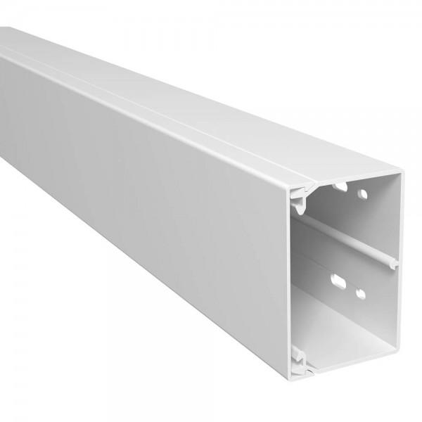 OBO® - 24m, Wand- und Deckenkanal, 60x90mm, WDK, reinweiß (RAL9010), Länge 2 m-WDK 60090RW