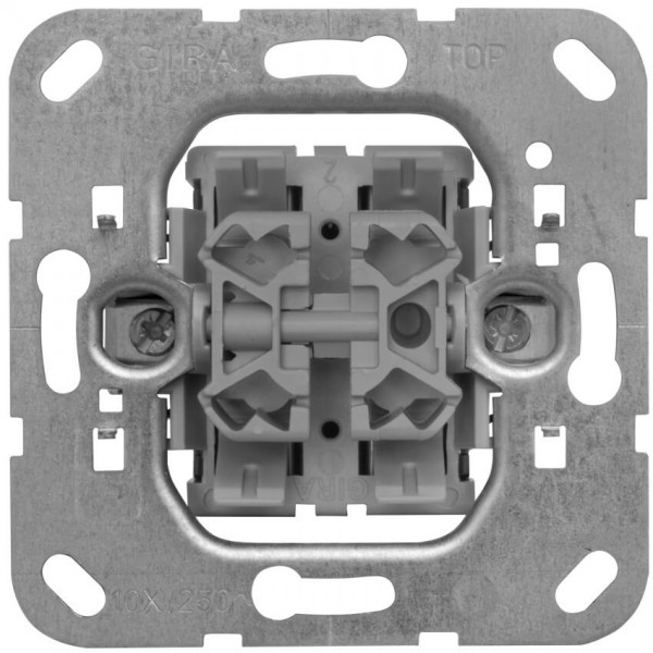 GIRA® - Doppelwechsel-Schaltereinsatz 010800