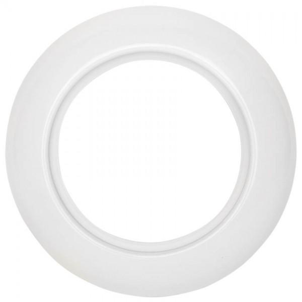 THPG Thomas Hoof - Abdeckrahmen, 1-fach, für Anschlussdosen, Porzellan weiß