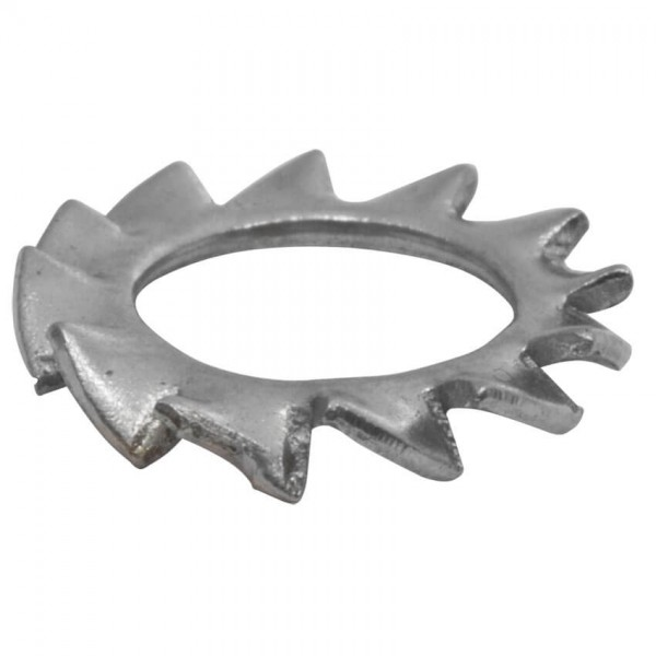 Fächerscheibe, EDELSTAHL, A2, außengezahnt-4,3 mm