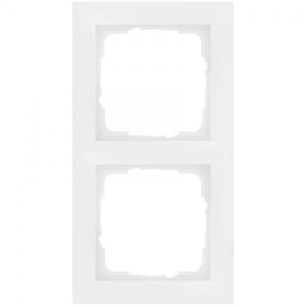 GIRA® - 2-fach Abdeckrahmen, System 55, E2, reinweiß-021229