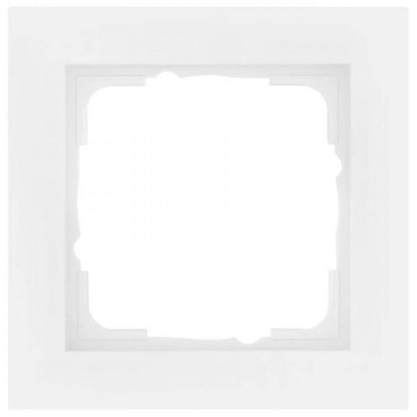 GIRA® - 1-fach Abdeckrahmen, System 55, E2, reinweiß-021129