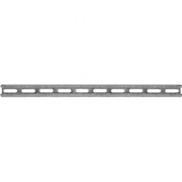Don Quichotte® - Profilschiene, Stahlband verzinkt, Schlitzweite 16,5 mm, 2x 2m