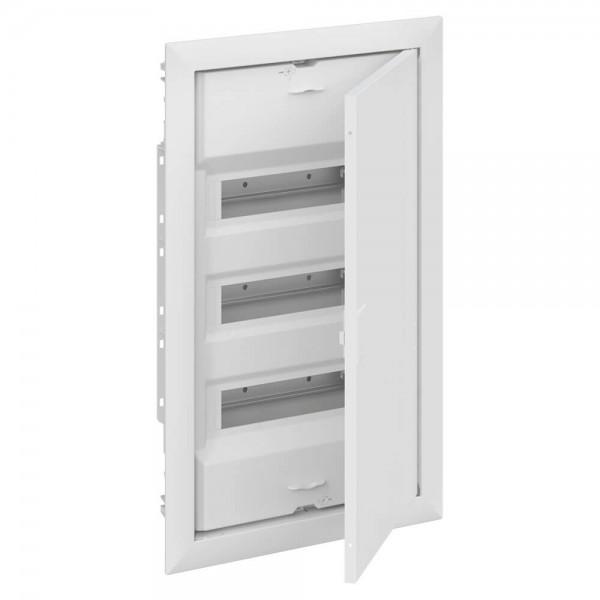 Kleinverteiler 3-reihig für 42 Module Unterputz/ UK600