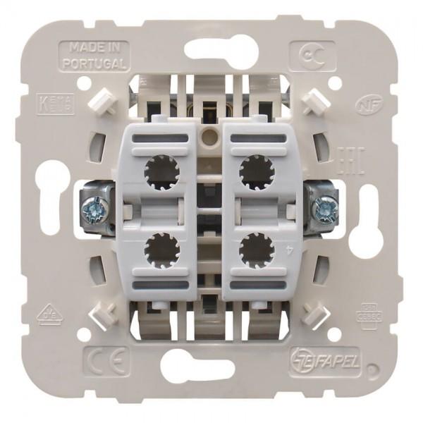 EFAPEL® - UP-Doppel-Wechsel-Schaltereinsatz