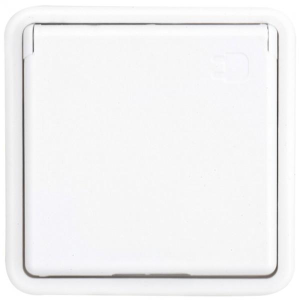 KOPP® - Kombi-Steckdose mit Klappdeckel