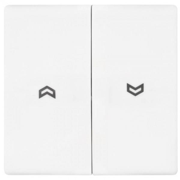 JUNG® - AS - Wippe, für Jalousie-Schalter, alpinweiß glänzend