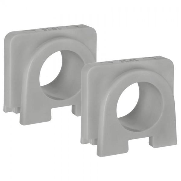 KOPP® - AP/FR - proAQA® - grau/hellgrau -Verbinder für Kombinationen, grau, 2 Stück