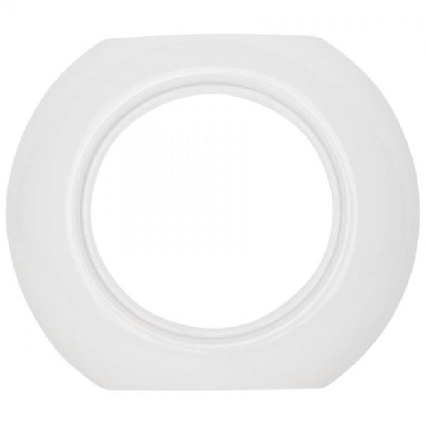 THPG Thomas Hoof - Abdeckrahmen, für Schalter, Steckdosen und Dimmer, anreihbar, Porzellan weiß - Mi
