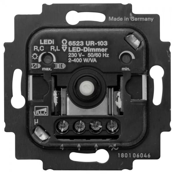 BUSCH-JAEGER® - Unterputz Einsatz - Druck-Wechsel- Dimmer, LED, 2-400W/VA