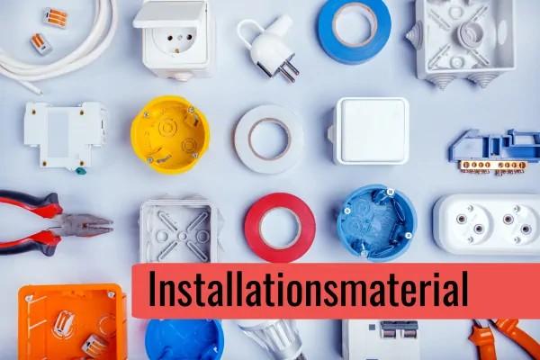 Installationsmaterial