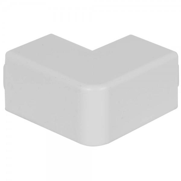OBO® - Außeneckhaube, 25x25mm, WDK, reinweiß (RAL 9010)-WDK HA25025RW
