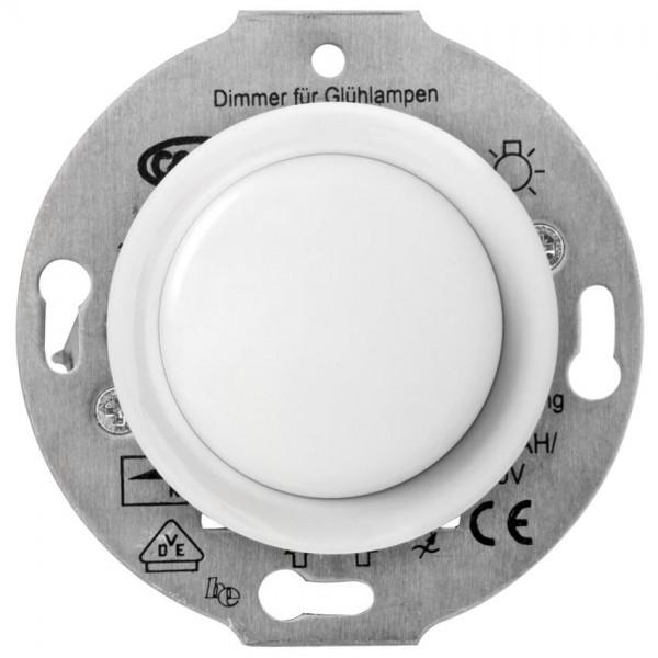 THPG Thomas Hoof - Kombi-UP-Einsatz, Porzellan weiß - Tast-Dimmer, 20-315W, R, C