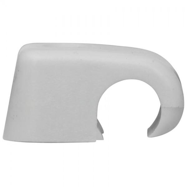 Haftclips ohne Nagel, grau, halogenfrei-4 - 7 mm