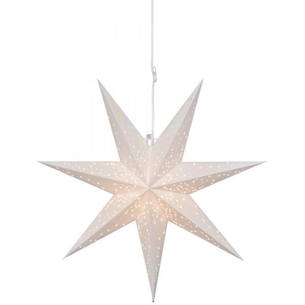 Weihnachtsstern, GALAXY, weiß, Ø 60cm, 1 x E14/25W