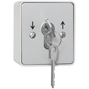 Kaiser-Nienhaus - Schlüsselschalter (Taster) Garagentor Aufputz