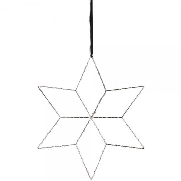 Fensterbild, LOLLY ,Ø 45cm, 54 warmweiße LEDs