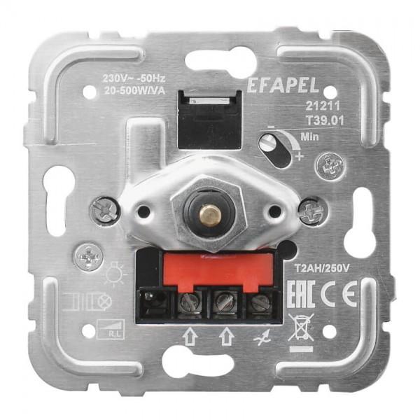EFAPEL® - Druck-/Wechsel- Dimmereinsatz, 20-500W/VA