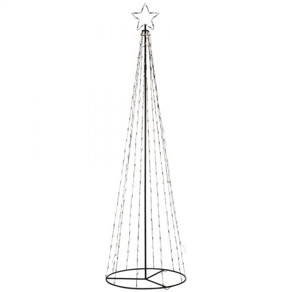 LED-Tannenbaum, TORN, H 2,5m, Ø 75cm, 250 warmweiße LEDs