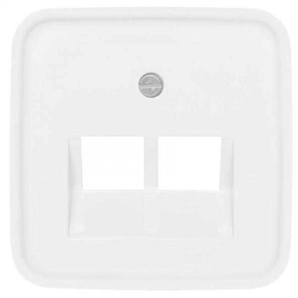 BUSCH-JAEGER® -REFLEX SI® - Zentralplatte, für 2-fach UAE-Steckdose