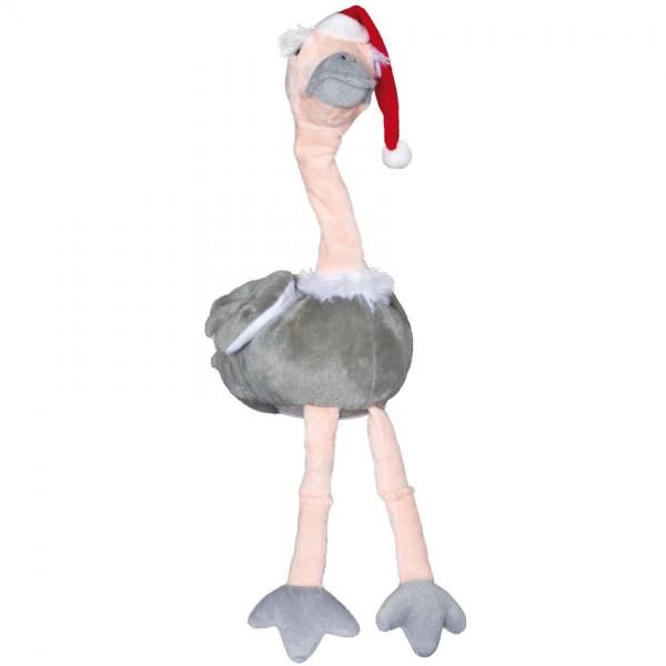 Weihnachtsvogel Strauß