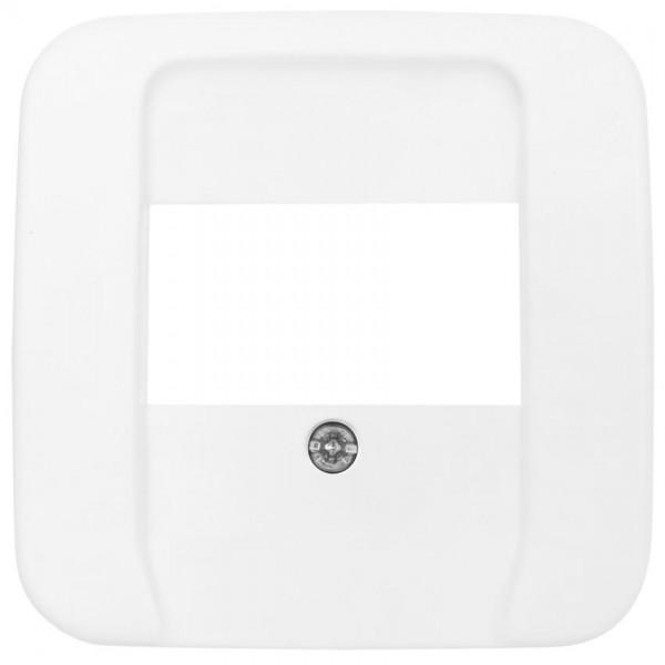 BUSCH-JAEGER® -REFLEX SI® - Zentralplatte, für 3-fach-TAE-Steckdose, alpinweiß