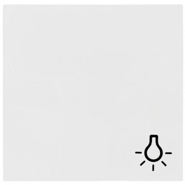"""GIRA® - Wippe, für Symbol """"Licht"""", SYSTEM 55, reinweiß glänzend-028503"""