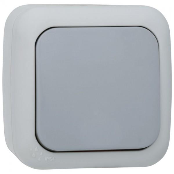 Panasonic® - AP/FR - PALMIYE - grau/dunkelgrau - Aus/Wechsel-Schalter