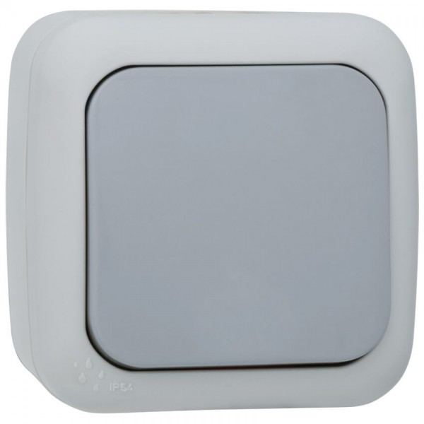 Panasonic® - AP/FR - PALMIYE - grau/dunkelgrau - Kreuz-Schalter