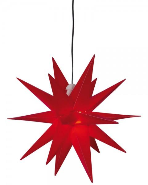 Weihnachtsstern, rot, Ø 25cm, 1 x E14/15W