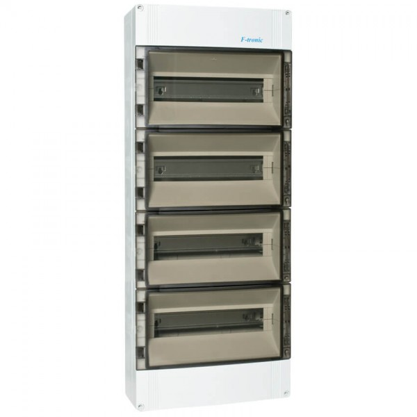 AP-Verteilerkasten IP 65 4-reihig für 56 Module