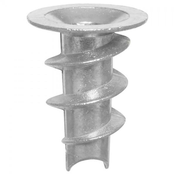 Gipskarton-Dübel aus Zink-Druckguss, kein Setzwerkzeug erforderlich, 200 Stück