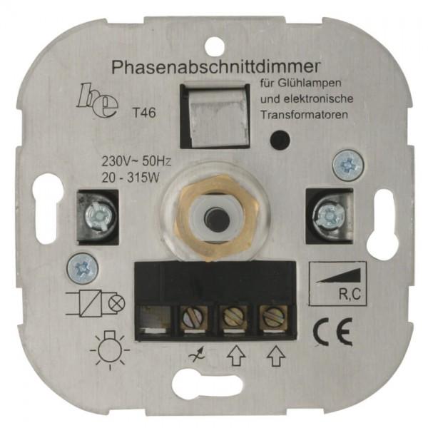 Dimmer-Einsatz UP Phasenabschnitt Druck-Wechselschalter AGL 20-315VA