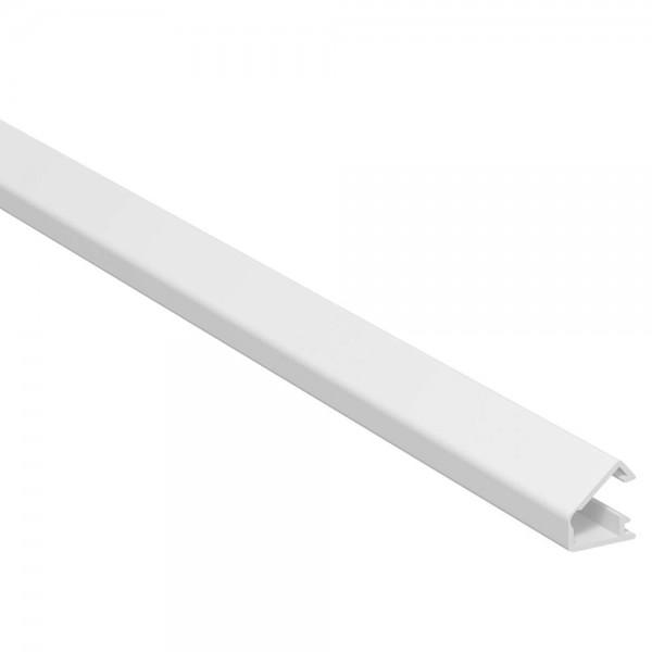 OBO® - Mini Kabelkanal mit Klebefolie und Scharnieroberteil, 7x12,5mm, reinweiß, Länge 2 m-WDK MD7
