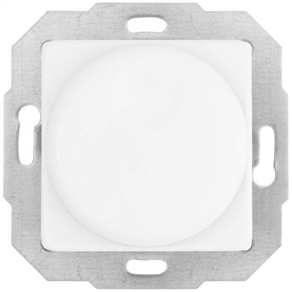 KLEIN®-SI - Kombi-Dimmereinsatz reinweiß, Druck-Wechsel, AGL 40-600W