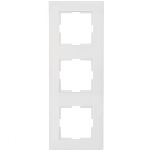 Panasonic® - Abdeckrahmen, MERIDIAN, reinweiß - 3-Fach