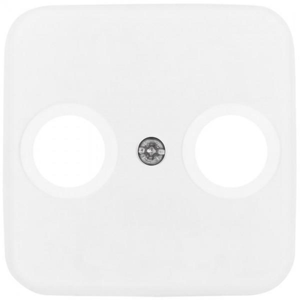 BUSCH-JAEGER® -REFLEX SI® - Zentralplatte, für TV/Radio- Antennensteckdose, alpinweiß