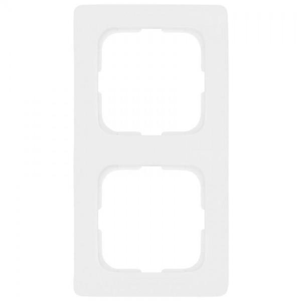 KLEIN®-SI - Rahmen 2-fach linear reinweiß