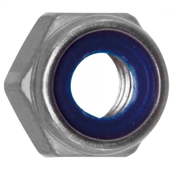 Sechskant-Sicherungsmutter, EDELSTAHL, A2, mit Polyamid-Klemmteil-M12