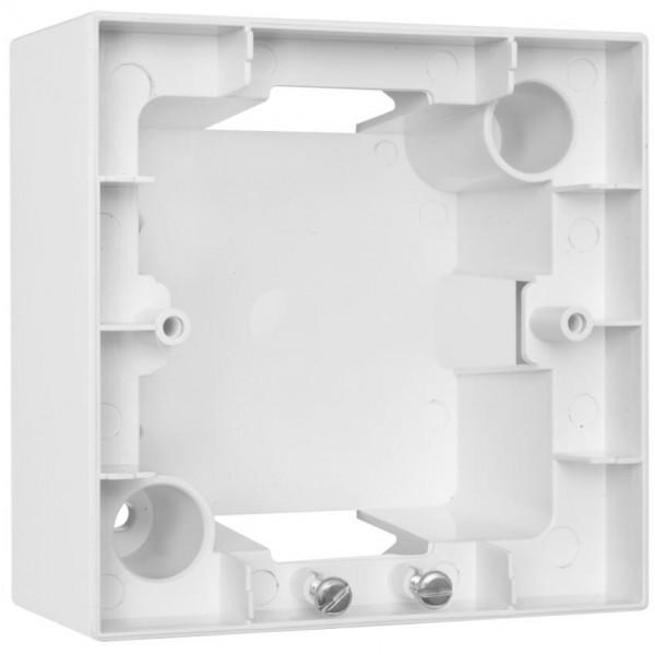 Panasonic® - Aufputzgehäuse, 1-fach, für Schalter, Steckdosen und Geräte, MERIDIAN, reinweiß