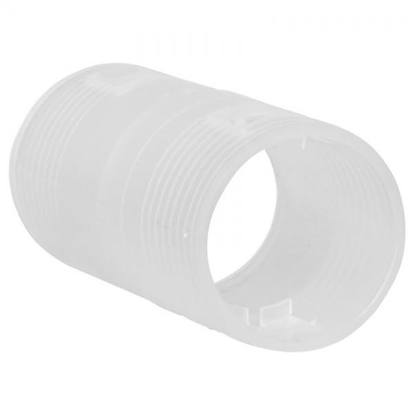 ftronic® - Hohlrohr-Steckmuffe, für gewelltes Rohr-7400033, M 25mm, 25 Stück