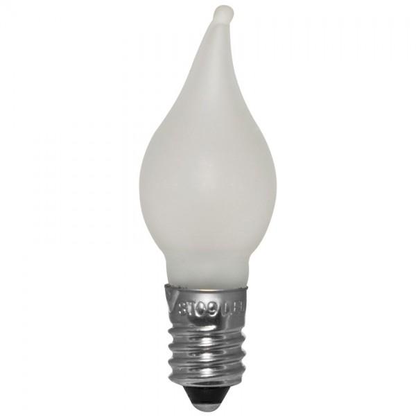 3x LED-Windstoßkerze, matt, E10 - 10-55V - 0,2W