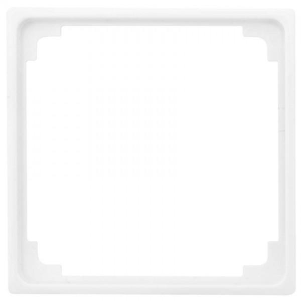 JUNG® - AS - Adapterrahmen, für Fremdgeräte mit Zentralplatte 50 x 50 mm, alpinweiß glänzend